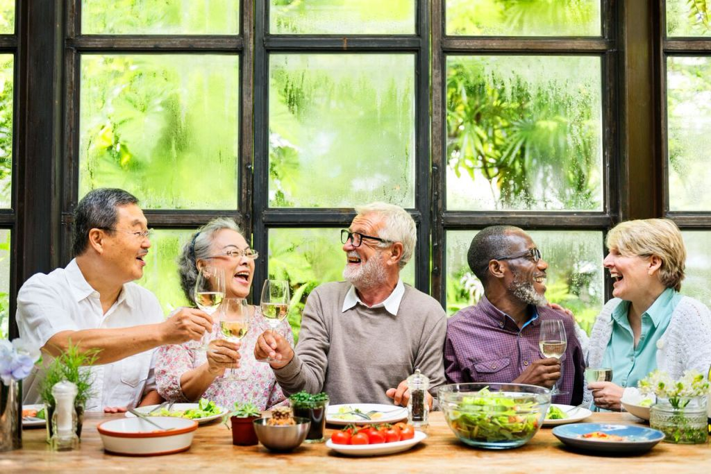 group-of-senior-retirement-meet-up-happiness-concept