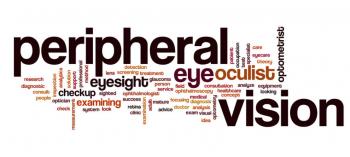Peripheral Vision Word Cloud
